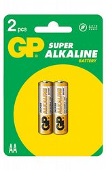 Batterier GP LR6 Ultra Alkaline 2-pack