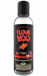 Massageoljor Massageljus I Love You Passion 100 ml