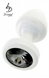Jewel Buttplug White
