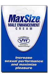 Prestationshöjande Max Size Cream Portion
