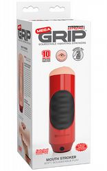 Mega Grip Mouth Stroker