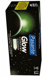 Kondomer Pasante Glow in the Dark 144-pack