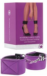 Handbojor Reversible Ankle Cuffs Purple