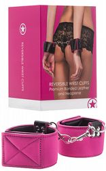 Handbojor Reversible Wrist Cuffs Pink
