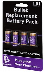 Batterier Rocks Off Battery Pack - 4 pack