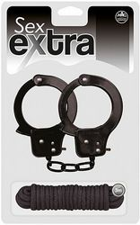 Sex Extra Metal Cuffs Love Rope