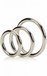 Silver Ring 3-pack