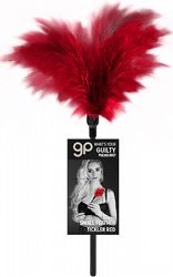 Small Feather Tickler Red