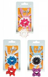 Toppsäljare Super Jelly Tickler Penisring 1-pack