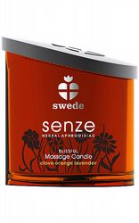 Presenttips Swede Senze Massage Candle Blissful