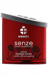 Presenttips Swede Senze Massage Candle Teasing