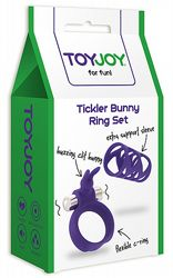 Tickler Bunny Ring Set