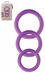 Twiddle Rings Purple 3-pack