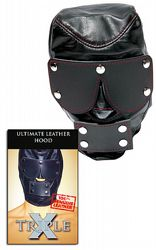 Extrem fetish Ultimate Leather Hood